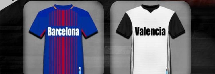 Прогноз матча Барселона — Валенсия 2 февраля