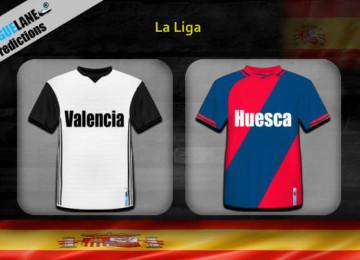 Прогноз матча Валенсия — Уэска 23 декабря
