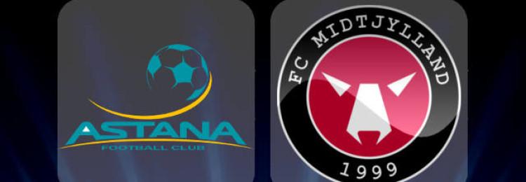 Прогноз матча Астана — Мидтьюланд 24 июля