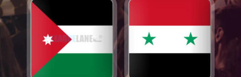Прогноз матча Иордания – Сирия 10 января