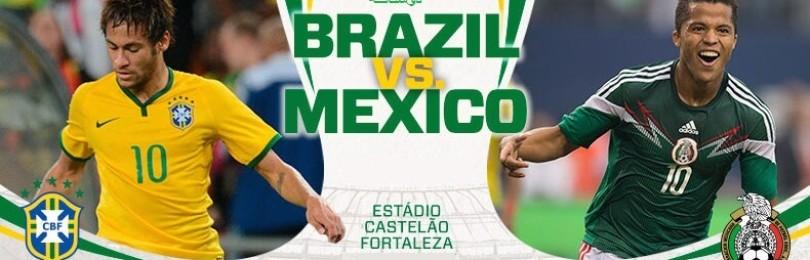 Прогноз матча Бразилия — Мексика 2 июля