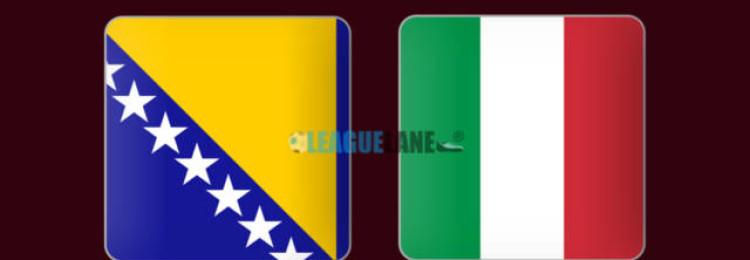 Прогноз матча Босния – Италия 15 ноября