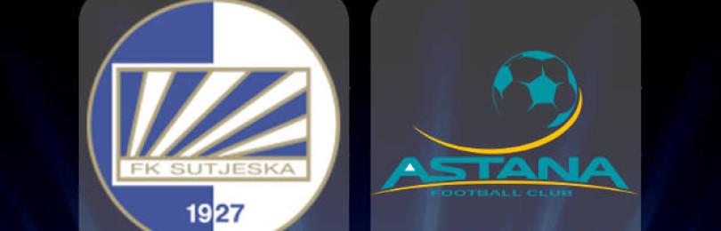 Прогноз матча Сутьеска Никшич — ФК Астана 18 июля