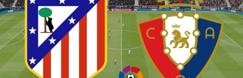 Прогноз на матч Осасуна – Атлетико 17 июня
