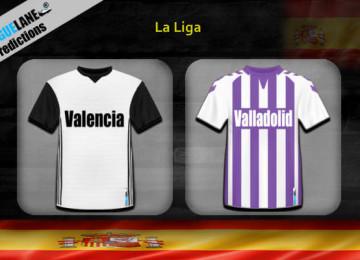 Прогноз матча Валенсия — Вальядолид 12 января