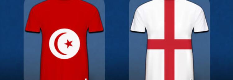 Прогноз матча Англия — Тунис 18 июня