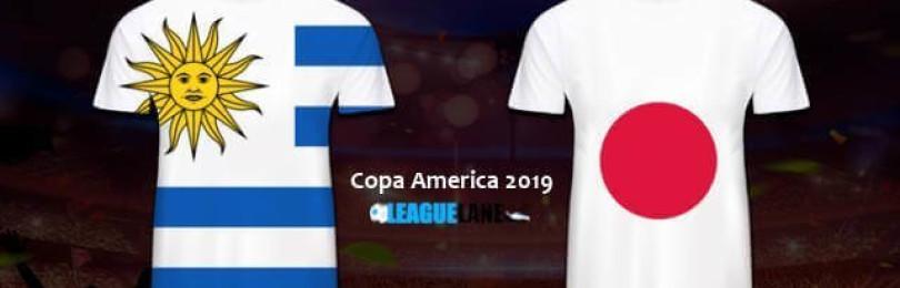 Прогноз матча Уругвай — Япония 21 июня