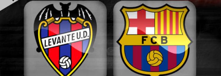 Прогноз матча Леванте – Барселона 10 января