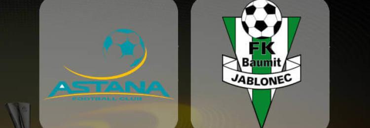 Прогноз матча Астана — Яблонец 8 ноября