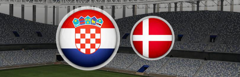 Прогноз матча Хорватия — Дания 1 июля