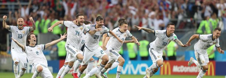 С кем сыграет сборная России по футболу в 1/4 финала чемпионата мира