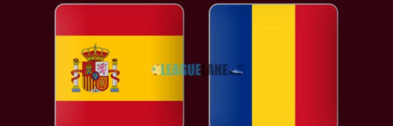 Прогноз матча Испания – Румыния 18 ноября