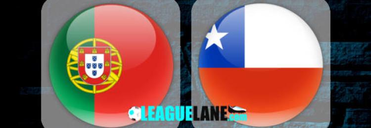 Прогноз матча Португалия – Чили 28 июня