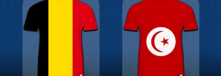 Прогноз матча Бельгия — Тунис 23 июня