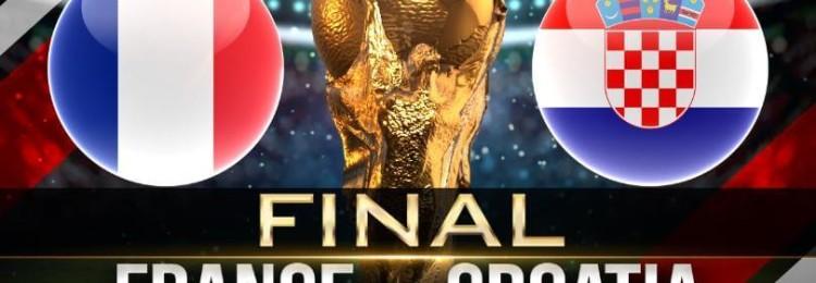 Прогноз матча Франция — Хорватия 15 июля