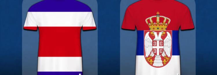 Прогноз матча Сербия — Коста-Рика 17 июня