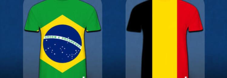 Прогноз матча Бразилия — Бельгия 6 июля