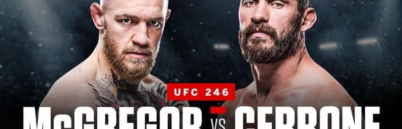 Прогноз на бой Конор Макгрегор – Дональд Серроне (UFC 246)