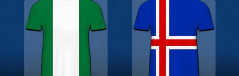 Прогноз матча Исландия — Нигерия 22 июня