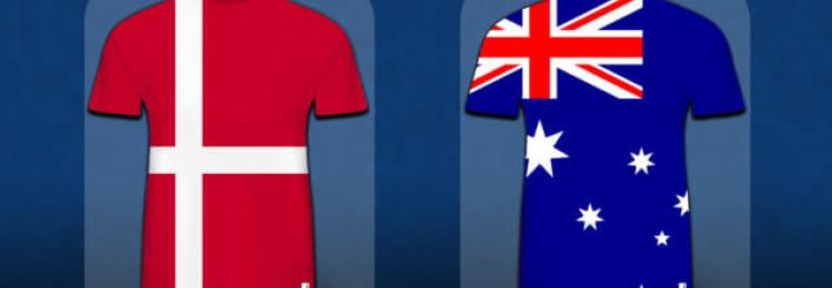 Прогноз матча Дания — Австралия 21 июня