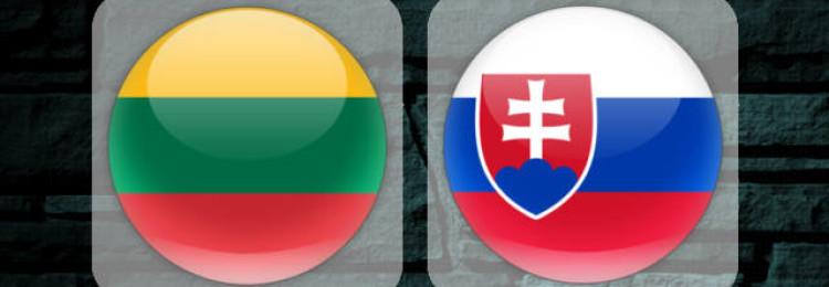Прогноз матча Литва – Словакия 10 июня