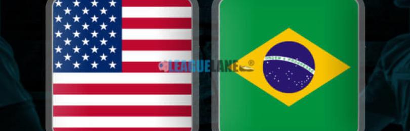 Прогноз матча США — Бразилия 8 сентября