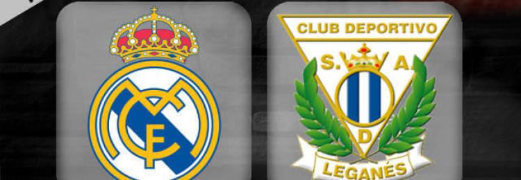 Прогноз матча Реал Мадрид — Леганес 9 января