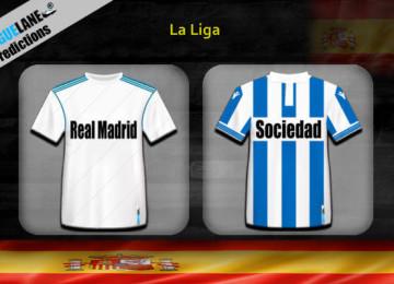 Прогноз матча Реал Мадрид — Реал Сосьедад 6 января