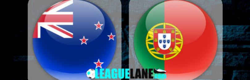 Прогноз матча Новая Зеландия – Португалия 24 июня