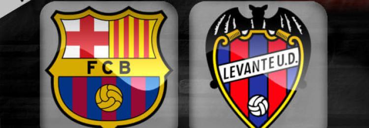Прогноз матча Барселона — Леванте 17 января