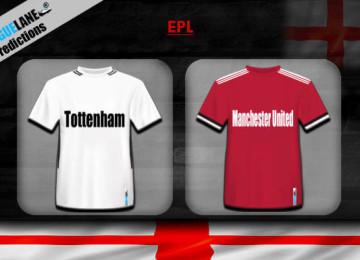 Прогноз матча Тоттенхэм — Манчестер Юнайтед 13 января