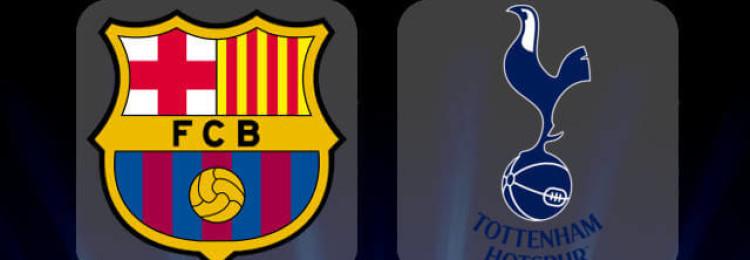 Прогноз матча Барселона – Тоттенхэм 11 декабря