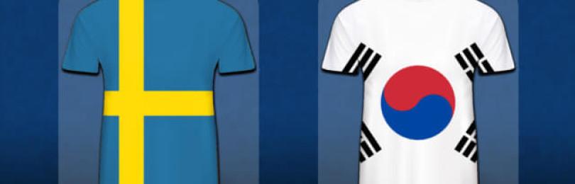 Прогноз матча Швеция — Южная Корея 18 июня