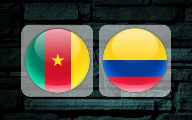 Камерун - Колумбия 13 июня 2017