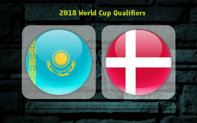 Казахстан - Дания 10 июня 2017 отбор к ЧМ-2018