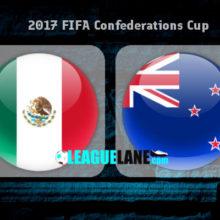 Прогноз матча Мексика – Новая Зеландия 21 июня