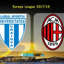 Прогноз матча Университатя Крайова — Милан 27 июля