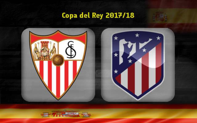 Севилья — Атлетико Мадрид 23 января 2018