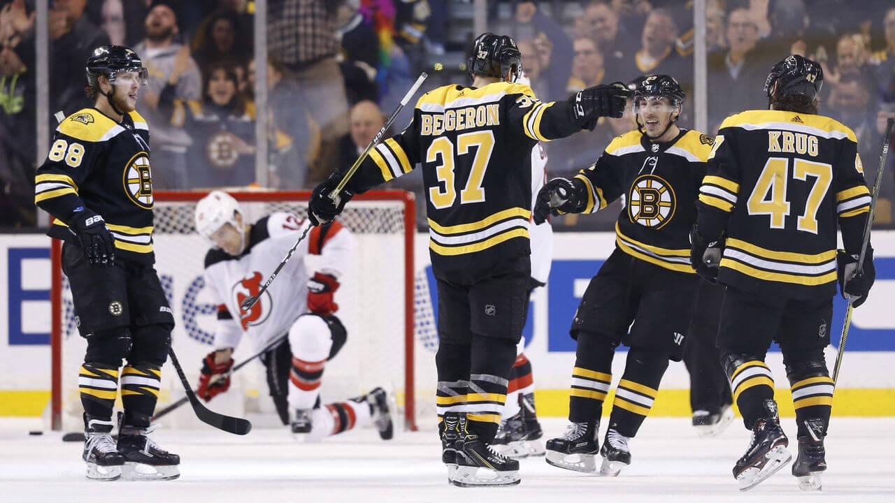 Клуб НХЛ Бостон Брюинз в сезоне 2018 года
