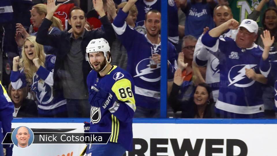 Никита Кучеров на матче звезд НХЛ 2018