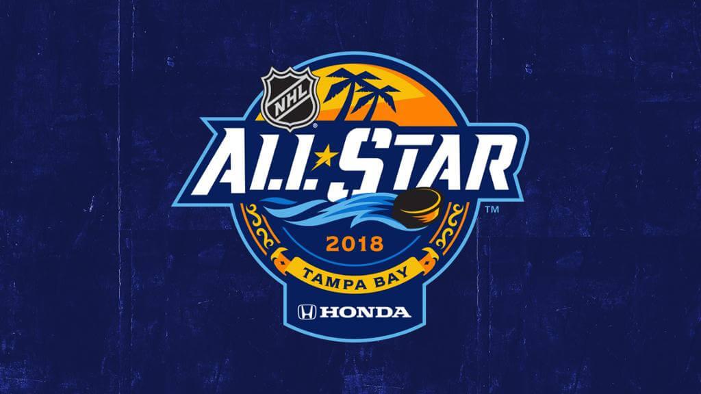 Матч звезд НХЛ 2018 года - логотип мероприятия