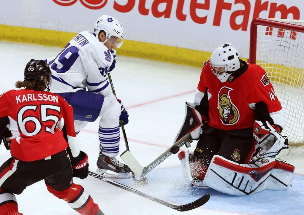 Торонто - Оттава прогноз на НХЛ