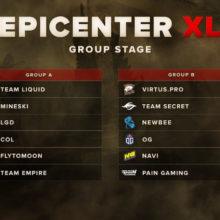 Ставки на Epicenter XL 2018