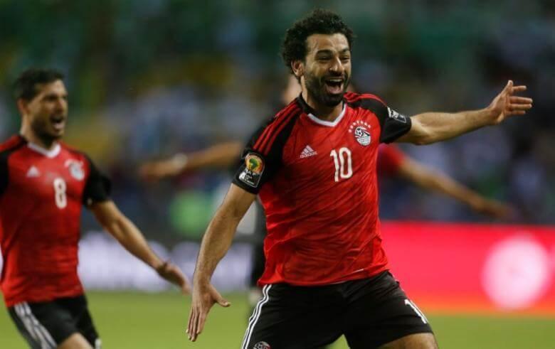 Салах в сборной Египта по футболу 2018 года на чемпионате мира