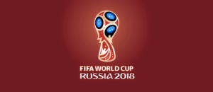 Простой плакат FIFA World Cup RUSSIA 2018.