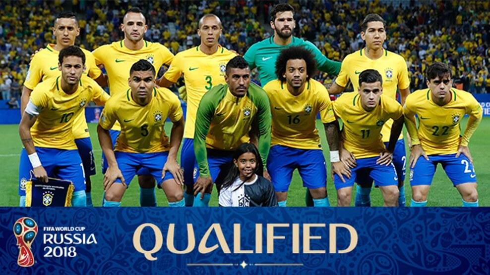 Сборная Бразилии на чемпионате мира по футболу 2018 год