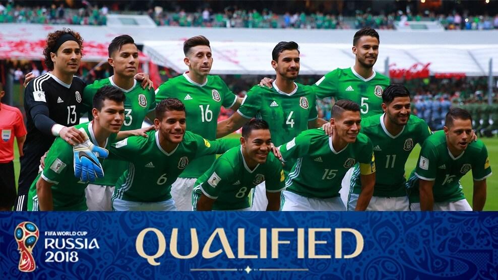 Сборная Мексики на чемпионате мира по футболу 2018 год