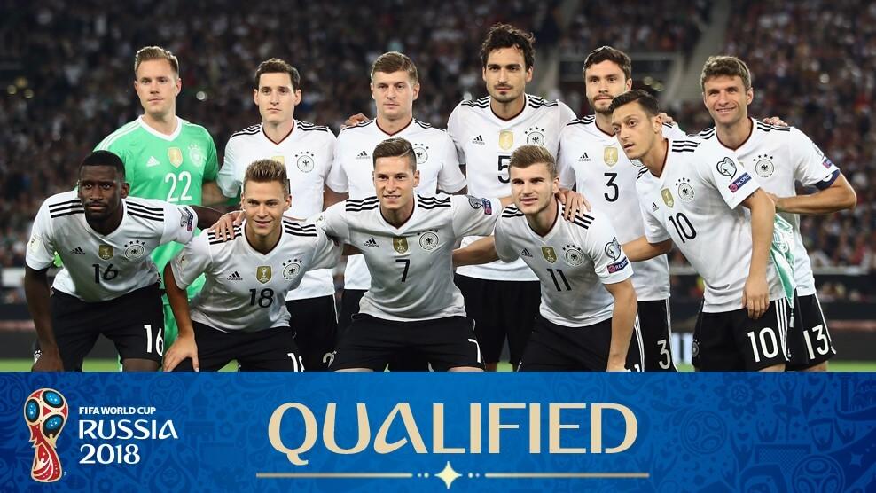 Сборная Германии на чемпионате мира по футболу 2018 год