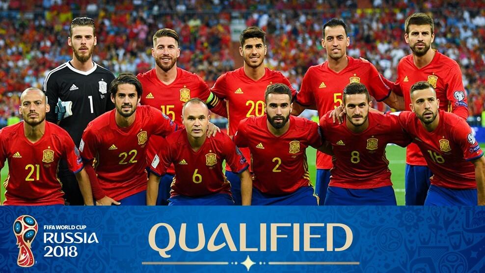 Сборная Испании на чемпионате мира по футболу 2018 года