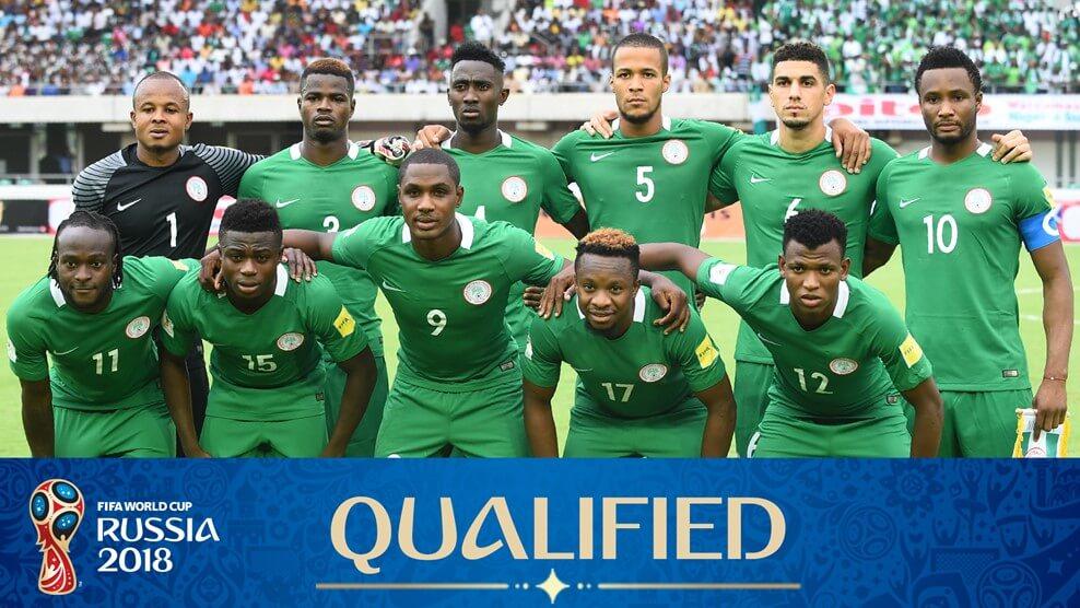 Сборная Нигерии на чемпионате мира по футболу 2018 год